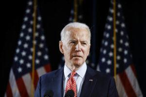 ASSOCIATED PRESS                                 Democratic presidential candidate former Vice President Joe Biden spoke about the coronavirus, March 12, in Wilmington, Del.