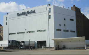 ASSOCIATED PRESS                                 The Smithfield pork processing plant in Sioux Falls, S.D.