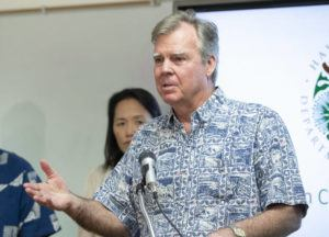 CINDY ELLEN RUSSELL / MARCH 8                                 Hawaii Department of Health director Bruce Anderson told state lawmakers today that Hawaii counted only five new confirmed coronavirus cases today, bringing the statewide tally to 504.