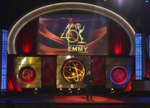ASSOCIATED PRESS                                 Mario Lopez on stage at the 46th annual Daytime Emmy Awards in Pasadena, Calif., in 2019. The Daytime Emmy Awards are skipping a theater ceremony because of the coronavirus but the honors will be presented on a TV broadcast on June 26.