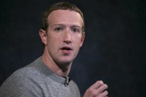 ASSOCIATED PRESS FILE                                 Facebook CEO Mark Zuckerberg