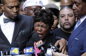 ASSOCIATED PRESS Wanda Johnson, center, mother of Oscar Grant, who was killed by transit officer Johannes Mehserle, speaks during a news conference in Los Angeles in 2010. As videos and stories of Black people being killed at the hands of police officers make the rounds online, many Americans have been called to protest racial injustice in recent weeks. For many Black Americans, those videos are also contributing to a sense of grief and pain. Psychologists call it racial trauma, the distress experienced because of the accumulation of racial discrimination, racial violence or institutional racism.
