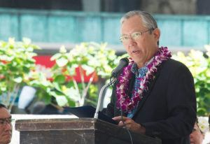 STAR-ADVERTISER / SEPT. 2018                                 City Managing Director Roy Amemiya spoke at the annual 9/11 Remembrance Ceremony in Honolulu. Amemiya testified before a federal grand jury Thursday.