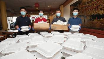 A gift of two dumplings began a family legacy of giving