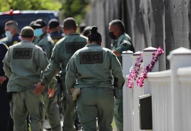 Honolulu police officers and Hibiscus Drive residents recall a calamity that killed 4