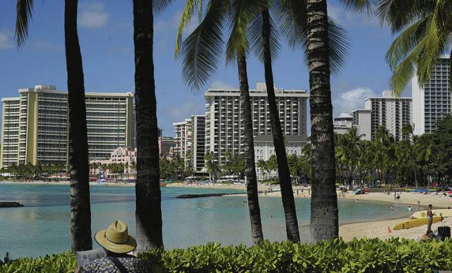Hawaii hotels have the lowest December occupancy rate in the nation