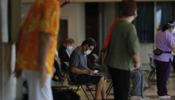 Infections and hospitalizations are dropping in Hawaii as more people get inoculated