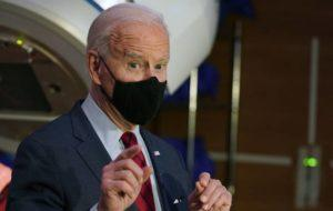 ASSOCIATED PRESS                                 President Joe Biden spoke during a tour of the James Cancer Hospital and Solove Research Institute, today, on the campus of The Ohio State University in Columbus, Ohio.