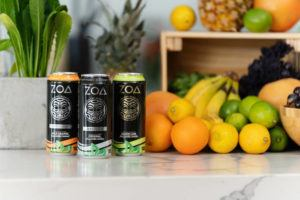 COURTESY BUSINESS WIRE                                 ZOA energy drinks will be available for purchase online in March.