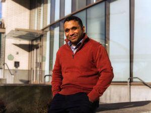 NEW YORK TIMES                                 Shamir Karkal, founder of Sila, in Portland, Oregon, on Thursday.