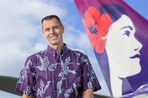STAR-ADVERTISER / 2018                                 Hawaiian Airlines President and CEO Peter Ingram