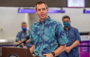 STAR-ADVERTISER                                 Hawaiian Airlines President and CEO Peter Ingram