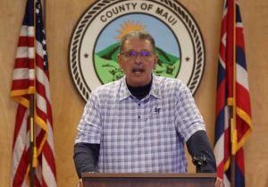 MAUI COUNTY FACEBOOK                                 Maui Mayor Michael Victorino