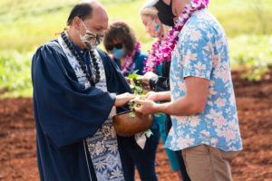 COURTESY KAMEHAMEHA SCHOOLS                                 Clearway Energy Group on Thursday broke ground on two utility-scale solar projects in Mililani and Waiawa.