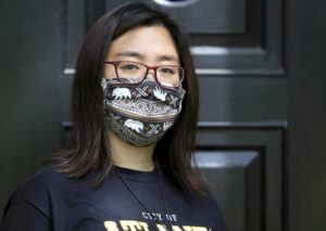 ASSOCIATED PRESS                                 Claire Xu, posed for a photo, April 9, in Decatur, Ga., Xu was propelled into action following the mass fatal shootings of eight people, six of them Asian women, at a Georgia massage businesses in March.
