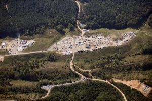 ASSOCIATED PRESS                                 Vehicles were seen, in Sept. 2016, near Colonial Pipeline in Helena, Ala. North America's biggest petroleum pipeline is in a race against time to overcome paralyzing cyberattacks as gas station supplies dwindled and North Carolina declared a state of emergency with cars lining up for fuel.
