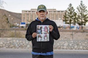 INSTITUTE FOR JUSTICE VIA ASSOCIATED PRESS                                 Vietnam veteran José Oliva held a photo in front of the VA hospital in El Paso, Texas.