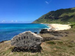 COURTESY DLNR                                 State officials said the entrance gate to the parking late at Keawaula side of Kaena Point State Park will reopen this weekend.