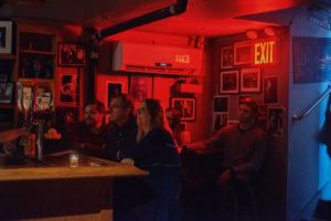 NEW YORK TIMES                                 A crowd fills Smalls Jazz Club in New York, on Sunday.