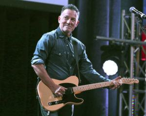 COURTESY INVISION VIA AP / 2016                                 Bruce Springsteen performs at Stand Up For Heroes in New York.