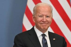 POOL VIA AP                                 U.S. President Joe Biden attends a bilateral meeting with Swiss president Guy Parmelin in Geneva, Switzerland.