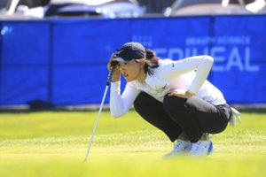NEW YORK TIMES / JUNE 11 Michelle Wie West, an American of Korean descent, at the LPGA Mediheal Championship at Lake Merced Golf Club in Daly City, Calif.