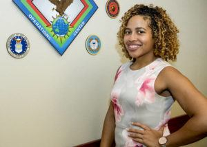 COURTESY STAFF SGT. KAYLEE CLARK/U.S. INDO-PACIFIC COMMAND / 2018                                 Pictured is Asia Lavarello who served as executive assistant at the U.S. Indo-Pacific Command in Hawaii. She pleaded guilty in federal court to taking numerous classified documents, writings, and notes relating to the national defense or foreign relations of the United States without permission.