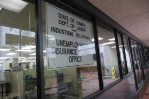 STAR-ADVERTISER                                 The Unemployment Insurance Claims office was seen in March 2020 in Honolulu. People with unemployment benefit issues will be able to meet in person with state labor officials on all islands beginning Sept. 7, the day after Labor Day.