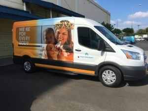 COURTESY KAISER PERMANENTE                                 The free shuttle will travel from Nanakuli to the West Oahu Medical Office in Kapolei on Monday, Wednesday and Friday mornings starting Sept. 8.