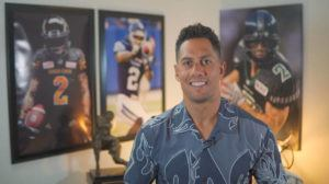 "STAR-ADVERTISER                                 Chad Owens hosts ""The CO2 RUN DWN,"" the Honolulu Star-Advertiser's Facebook Live sports talk show."