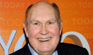 """ASSOCIATED PRESS / 2012                                 Former """"Today"""" show weatherman Willard Scott attends the """"Today"""" show 60th anniversary celebration at the Edison Ballroom in New York."""