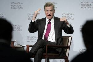 ASSOCIATED PRESS                                 Federal Reserve Bank of Dallas President Robert Kaplan spoke to a breakfast meeting, in May 2017, at the Council on Foreign Relations, in New York. The Dallas Fed announced, Monday, that Kaplan will step down as president of the Federal Reserve Bank of Dallas in early October.