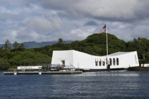 STAR-ADVERTISER / 2019                                 The park service staff at the Pearl Harbor National Memorial was alerted at 10:20 a.m. today to a safety issue with the shoreside dock.