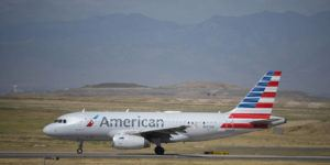 ASSOCIATED PRESS                                 An American Airlines jet taxied on a runway to leave Denver International Airport, Aug. 24, in Denver.