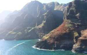 COURTESY DLNR                                 The renowned and stunning Napali Coast State Wilderness Park is Hawaii's largest and most remote state park, and commercial photography is not allowed.