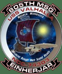 USS Valhalla Logo