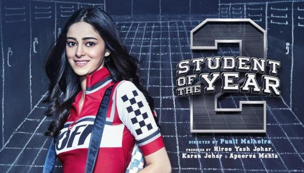 Ananya Pandey in Student of the year 2