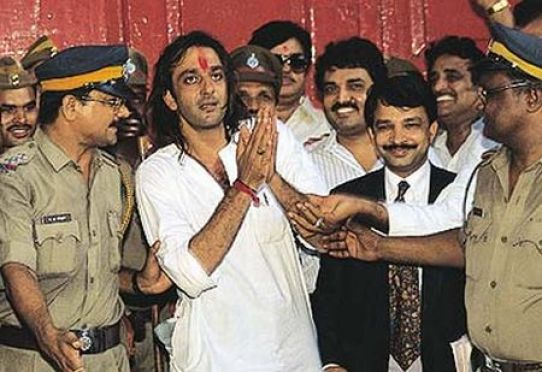 Sanjay Dutt In Police Custody