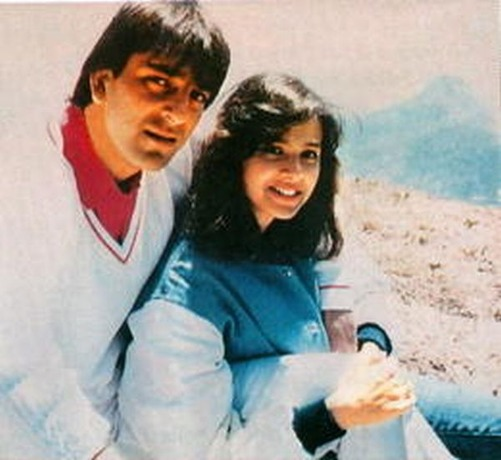 Sanjay Dutt With Richa Sharma