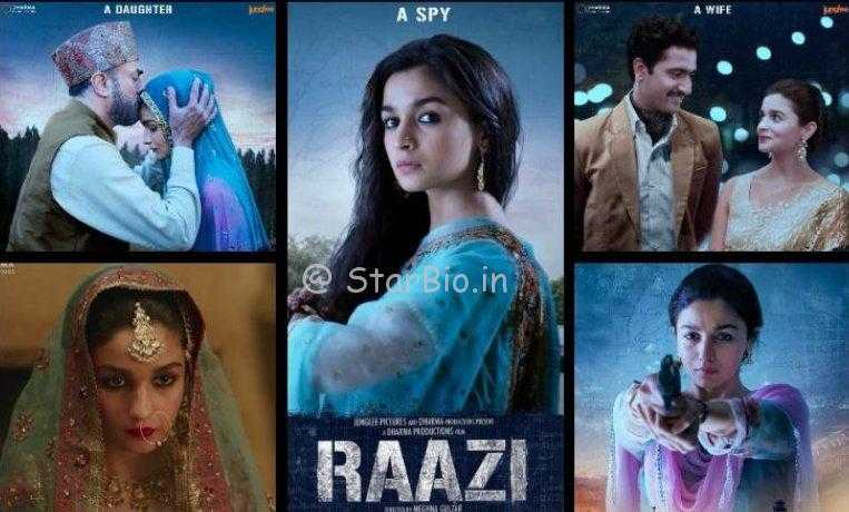 Sehmat Khan's Spirit of Patriotism-Raazi