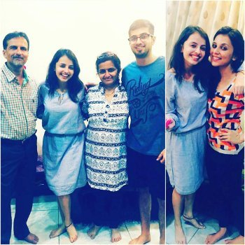 Shrenu Parikh Family Education Husband