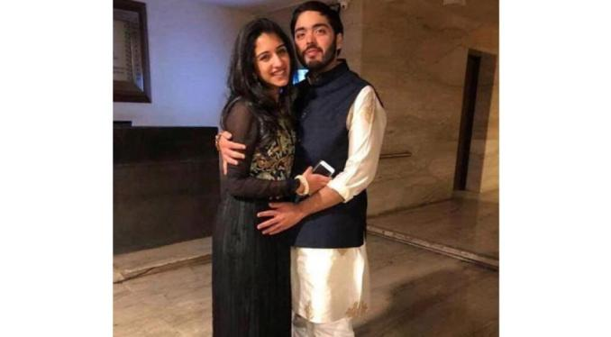 anant ambani with radhika merchant