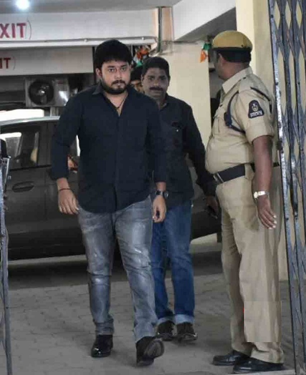 Tanish outside the court- Drug Case