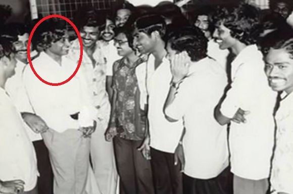 APJ Abdul Kalam during his study in Madras Institute of Technology