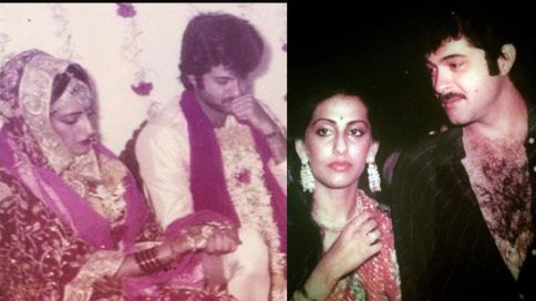 Anil Kapoor's marriage pic