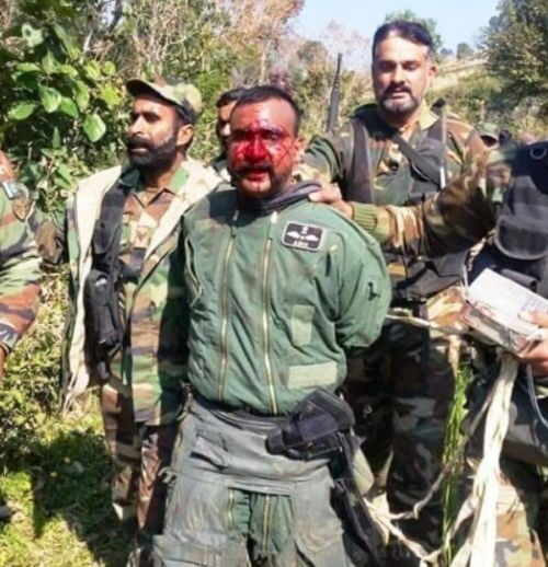 Abhinandan Varthaman In The Custody Of Pakistan