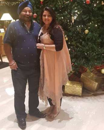 Nilu Kohli with her Husband