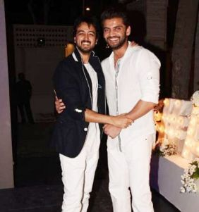 Priyank Sharma with Zaheer Iqbal