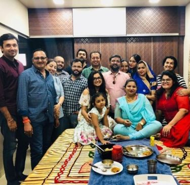 Amrapali With Her Family