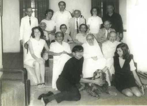 K. M. Nanavati's Family, Bottom Row- His son Feroze and His Daughter Tannaz